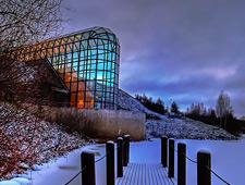 Het Arktikum Museum is gewijd aan de lokale Sami cultuur