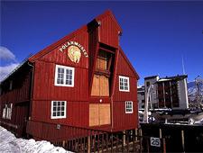 Het Polar Museum is gevestigd in één van de oudste huizen in Tromsø dat dateert uit 1830
