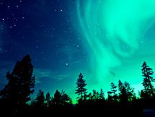 Tijdens één van de avonden zal uw gastheer of gastvrouw een woordje uitleg geven over het magische noorderlicht