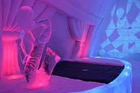 Overnachting in een Ice Room