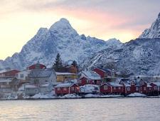 De Lofoten eilandgroep, door Unesco erkend als uniek gebied
