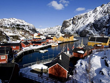 Nusfjord, één van de mooiste en best bewaarde vissersdorpjes van de Lofoten