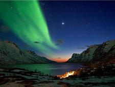 De hippe stad Tromsø wordt soms ook het Parijs van het hoge Noorden genoemd