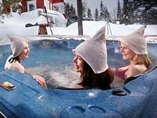 Bij aankomst kan u genieten van een typische Finse rooksauna en een openlucht jacuzzi