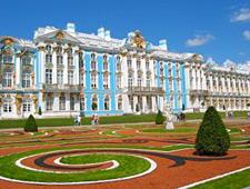 Het adembenemend mooie Catharina paleis, van bovenaf