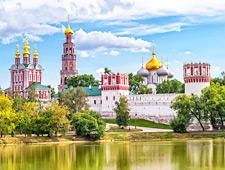 Het prachtige Novodievichy- of Maagdenklooster