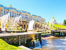 Petrodvorets of Peterhof, één van de mooiste Europese paleizen