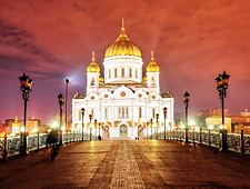De grootste orthodoxe kerk ter wereld: de Sint-Saviour kathedraal