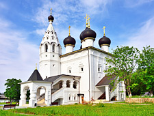 Het Spassky Monastery, het klooster van de Verlosser in Yaroslavl